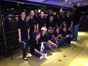Vox Camerata on the riverboat!