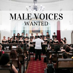 MALE VOICES WANTED