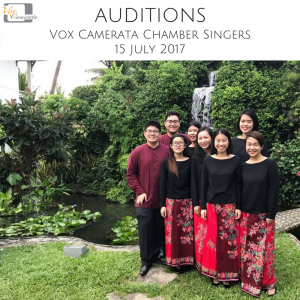 Vox Camerata Chamber Singers