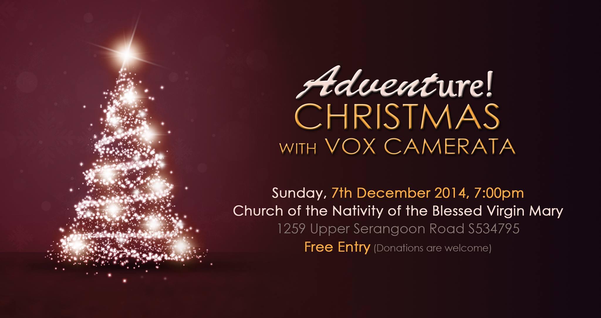 Vox Camerata Presents: Adventure 2014