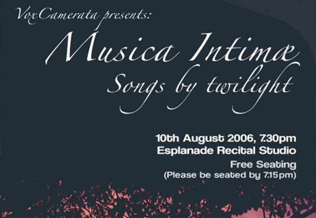 Musica Intimae: Songs by Twilight