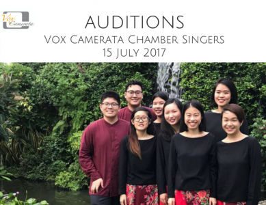Vox Camerata Chamber Singers want you!