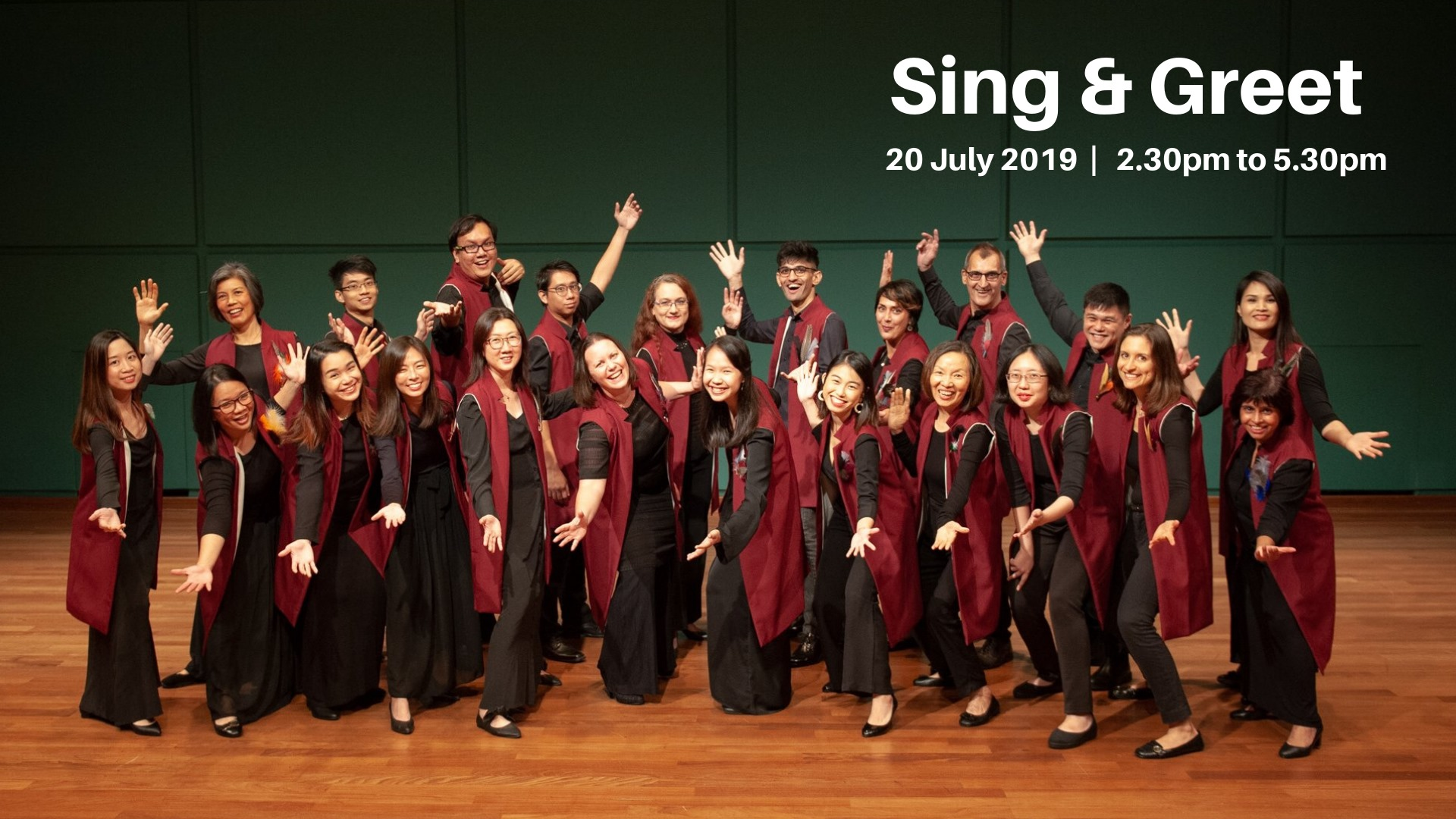 Come Sing With Us!!