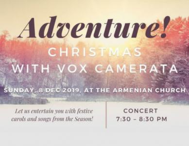 """""""Adventure!"""" with Vox Camerata!"""