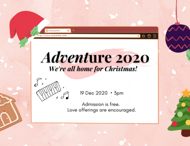 Adventure! 2020: We're all home for Christmas